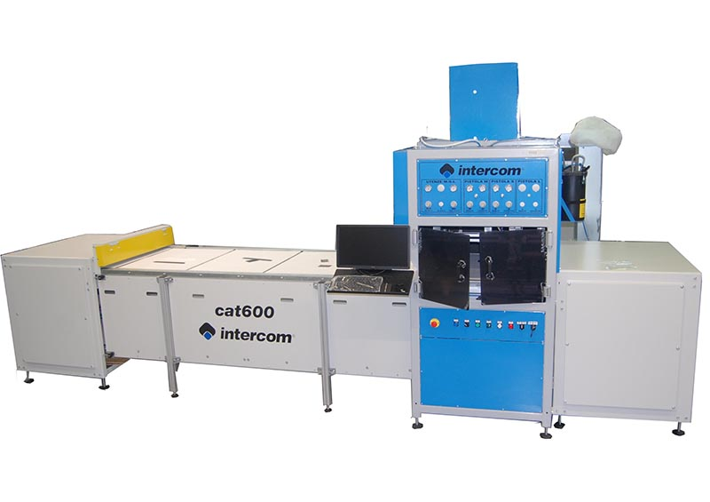 DV.600 - Automatic machine Polifemo with pallet movement